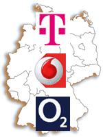Mobilfunk Netzabdeckung prüfen: LTE, HSPA, UMTS verfügbar?